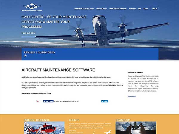 Ams - Aircraft Maintenance Systems